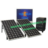 Solar Power System with 150W/36V*2PCS Solar Panel and 12V/100ah*4PCS Battery