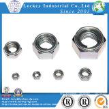 Metallic Insert Hex Lock Nut Zinc Plated