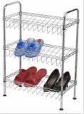 Modern Furniture DIY Knock Down Adjustable Metal Wire Shoe Rack