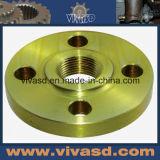 CNC Machining Aluminium Bronze Flanges