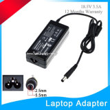 18.5V 3.5A 65W with 4.8*1.7mm Adapter for HP Laptop Charger