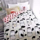 Luxury Cotton Bed Sheet Duvet Cover Bedding Set