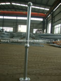 Hot Dipped Galvanized Steel Tube Column