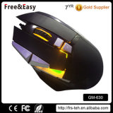 Factory LED Colorful USB 10d Wired Optical Game Mouse