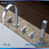 Brass Waterfall Bath Faucet Bathtub Tap Mixer