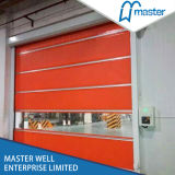 High Quality Aluminum Revolving PVC Rolling Shutter Door