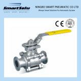 Threaded End PTFE Stainless Steel Ball Valve Pneumatic Actuator Operator