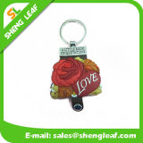 Promotional Gifts Soft PVC Customized Mini Notebook with Keychain