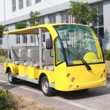 CE Certificated 14 Passengers Electric Sightseeing Bus on Sale (DN-14)