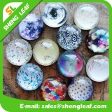 Hot Sale Customized Tourist Souvenir Dome Crystal Glass Magnet