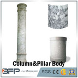 White Natural Stone Carving Granite Column/Pillar Body