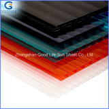 Higher Heat-Insulating Properties Polycarbonate Hollow Sheet with Plastic Raw Matetial