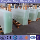 3.2mm Ultra Clear Patterned Tempered Sun Glass for Solar Energy Panels