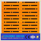 Slots Wooden Timber Decorative Wall Fireproof Acoustic Insulation Panel