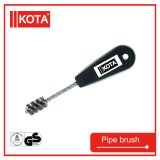 Steel Wire Pipe Brush with Plastic Handle