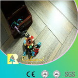 Commercial 12.3mm AC4 Crystal Hickory Sound Absorbing Laminated Floor