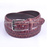 New Fashion Novel Design Grain Wholesales Men′s Casual Leather Belt