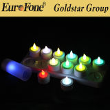 Remote Contro Colorful LED Rechargeable Candle Light