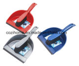 Colorful Plsastic Dustpan with Brush (3404)