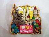Free Customized Promotional Gifts PVC Fridge Magnets Tourism Souvenir
