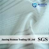10.5mm Silk Cotton Voile Stripe in 28%Silk 72%Cotton