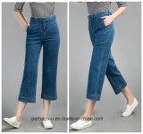 Women Clothes High Elastic Fashion Big Yards Denim Pantyhose