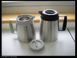 Double Wall Vacuum Coffee Pot Europe Style Svp-1000c-D