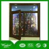 Iron Window Design Wood Aluminum Casement Window Design for Home Using