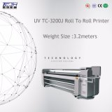 Large Format 3.2m Ricoh G5 Head Industrial Roll to Roll LED UV Printing Plotter Machine