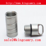 Steel Pill Bottle Holder Stainless Steel Pill Holder Medicine Holder