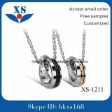 Hot Selling Products Stainless Steel Couple Pendant Charms