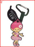 Apparel Soft PVC Keychains for Promotion (YH-KC125)