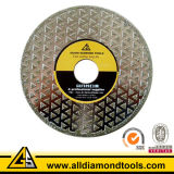 Electroplated Diamond Saw Blade Cutting Tools for Marble Ceramic