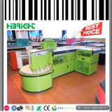 Caribbean Market Checkout Counter with Conveyor Belt