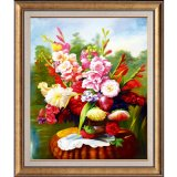 Excellent Modern Hand Panted Decoration Canvas Flower Oil Painting, Art Painting. Still Life Flower