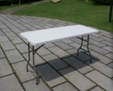 Blow Mould Folding Camping White Color Table (MW12013)