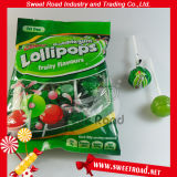 Bubble Gum Lollipop Fruit Flavor