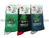 Cotton Christmas Socks with Christmax Tree Design