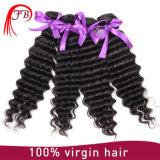 Virgin Hair Indian Natual Black Deep Wave Hair Bundles