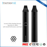 Health Care Ceramic Heating Wax Herbal Dry Herb Glass Vaporizer