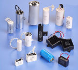AC Motor Run Fan Capacitor Film Capacitor Cbb60 Cbb61 Bangladesh Capacitors