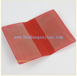 Hot Sale PVC Passport Holder Cover Pouch for Traval (YJ-M004)