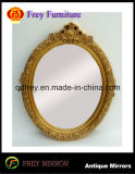 Wooden Wall Mirror Frame with Antique Design