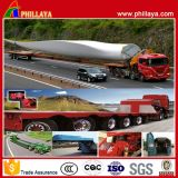 Wind Power Flatbed Trailer Truck