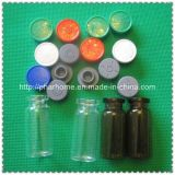 Clear 10ml Glass Vials with Stopper and Flip off Cap, Amber Vials, Brown Vials