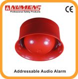 Intelligent Fire Alarm, Addressable Audio/Visual Alarm, Red (640-001)