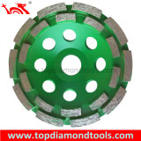 Diamond Cup Wheels with Double Row