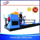 CNC Oxy Fuel Plasma Carbon Steel Pipe/Pressure Vessels Automatic Cutting Hole Drilling Machine