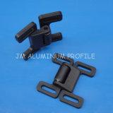 Black Plastic Universal Ball Catch Door for Aluminum Profile