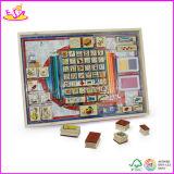 2014 New Wooden Kids Stamp Toys, Popualr Children Stamp Toys and Hot Selling Wooden DIY Stamp Toys with Best Price W03A014